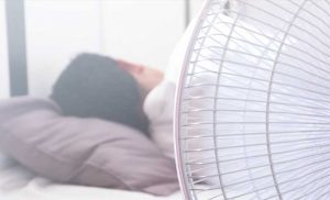Here's Why You Should Think Twice About Sleeping With A Fan On