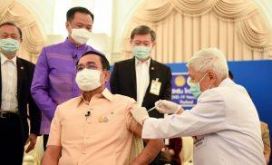 Thai PM gets AstraZeneca jab, 1 Asian country suspends