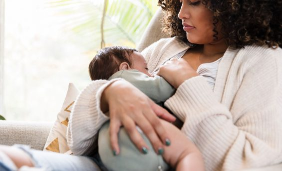 For breastfeeding moms, COVID-19 vaccinations may also protect babies