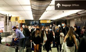U.S. CDC: Vaccinated people can resume travel at 'low risk'