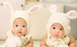 For twins, gesture and speech go hand-in-hand in language development