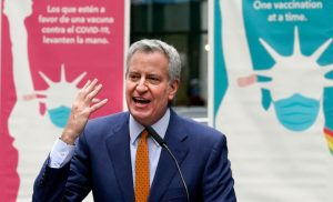 NYC mayor: Public schools will be all in person this fall