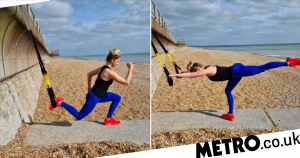 This full-body TRX workout targets every muscle group with just five moves