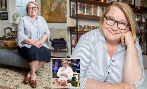 TV chef Rosemary Shrager reveals the pain caused by her eye problem