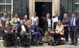 £50million Motor Neurone Disease funding plea taken to Downing Street